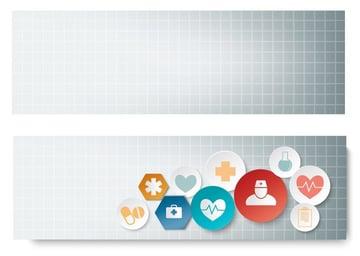 medical banner vector