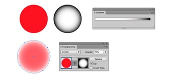 transparency settings