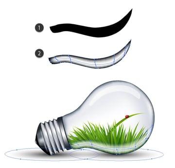 highlight light bulb