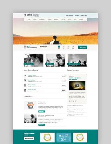 Native Church Multi Purpose WordPress Theme