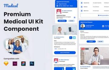Nuzie - Medical Ui Kits