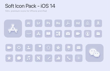Soft Icons - iOS 14 Icon Pack