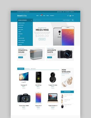 Basel - Responsive eCommerce Theme