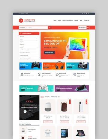 Meta Store (Free WordPress Theme)