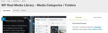 WP Real Media Library Download