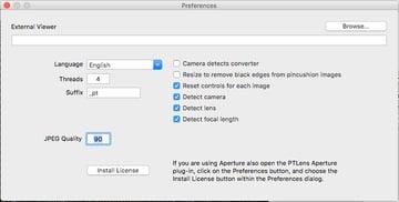 PTLens Preferences