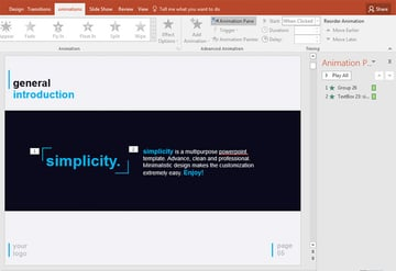 Animation Sequencing in PowerPoint