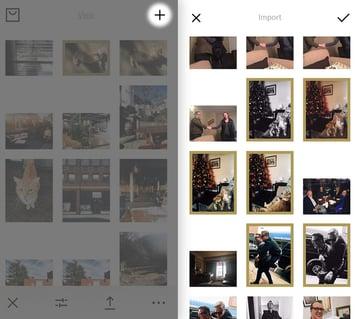 Import Images VSCO