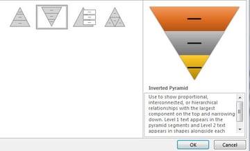 Pyramid Smartart