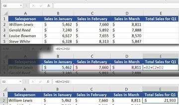 Sum of Total Sales