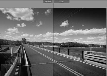 BW Landscape preset
