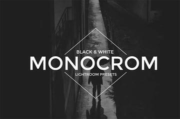 Monocrom BW Lightroom Presets - Envato Elements