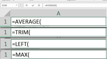 Excel Function Examples