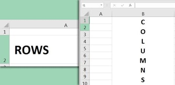 Excel Basics - Rows and Columns