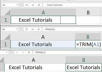 Excel Trim