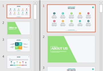 Resize Sidebar in Normal View in PowerPoint
