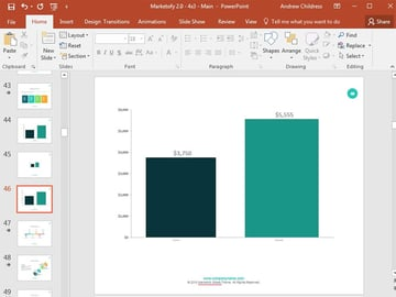 Excel file to PowerPoint