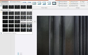 Image Adjustments in PowerPoint