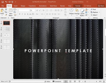 Background images and graphics in PowerPoint