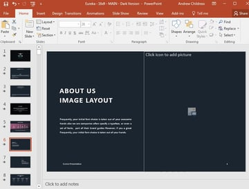 PowerPoint Text Placeholder Boxes