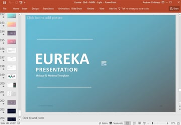Eureka Presentation PowerPoint Template