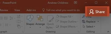 Share PowerPoint presentation