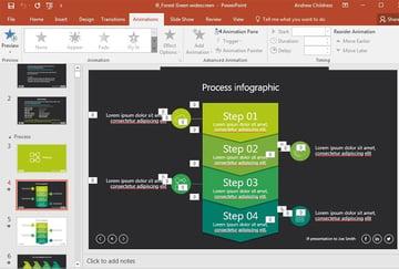 PowerPoint i9 Theme example Slide