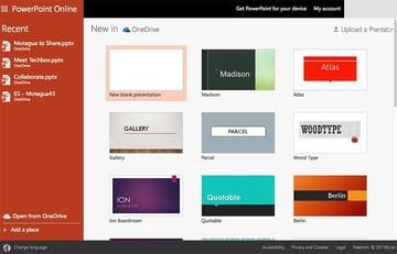 Microsoft PowerPoint Online Example