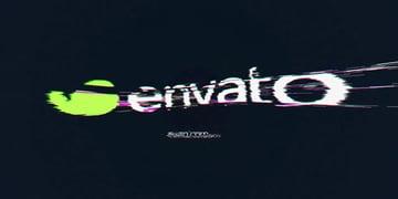 Glitch Logo Example