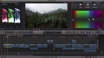 Color Correction in FCPX