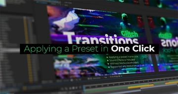 Glitch Titles and Transitions