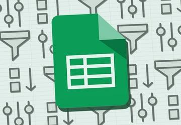 Google Sheets sort and filter illustration
