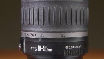 Standard Zoom lens example