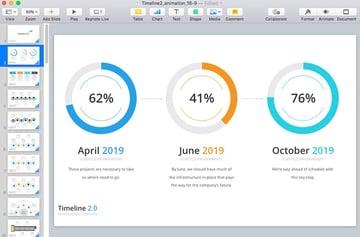 Progress Completion Slides