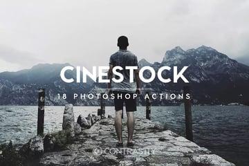 4 Cinestock Photoshop Actions