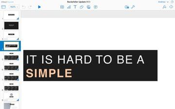 iCloud Keynote Rockefeller