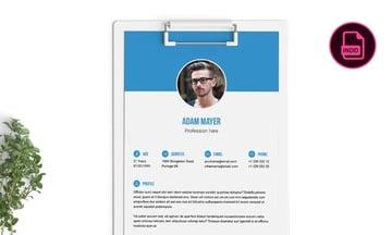 Multipurpose personalized resume template