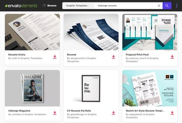 Elements InDesign Templates