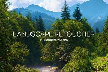 14 Landscape Retouching Actions