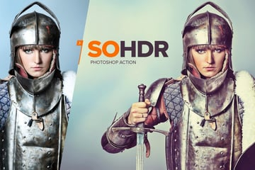 SoHDR Photoshop Action