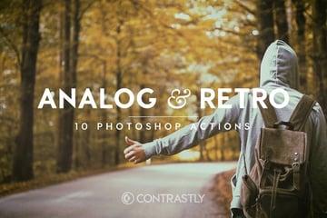 Analog Retro Photoshop Actions