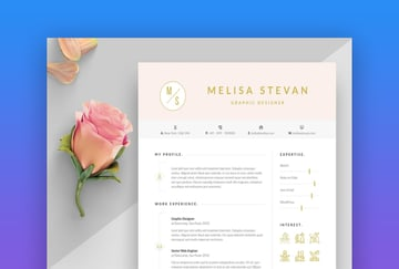 Colorful Airy Resume