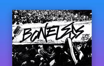 Boneless font