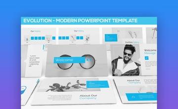 Evolution Modern PowerPoint Template