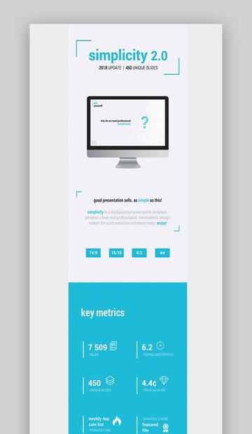 Simplicity PowerPoint Template