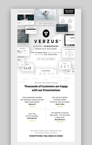 Verzus Slide Presentation Design