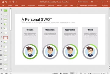 A Personal SWOT Example