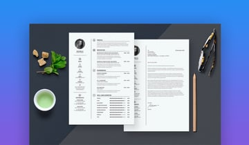 Clean Resume  Cover Letter Template