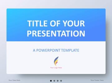 Blue Gradient PowerPoint Templates
