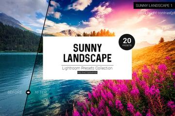 Sunny Landscape Lightroom Presets